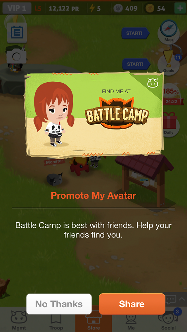 how to play battle camp