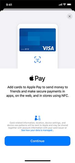 1822direkt Apple Pay