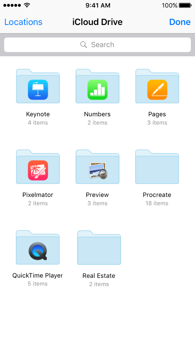 File Providers - Extensions - iOS - Human Interface