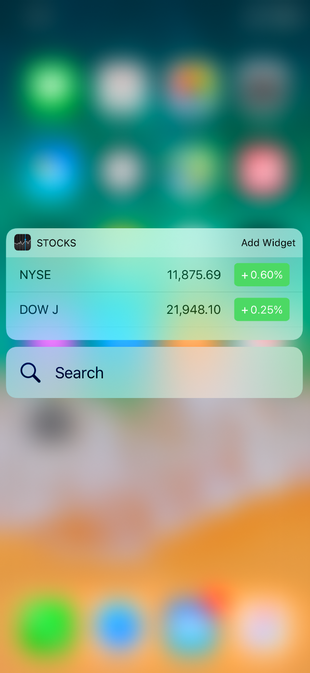 Widgets Extensions Ios Human Interface Guidelines