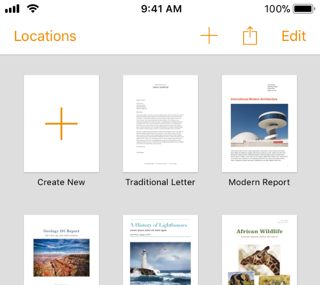 File Handling - User Interaction - iOS - Human Interface Guidelines