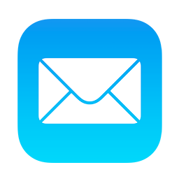 Image of the Mail app icon as it appears in iOS.