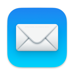 Image of the Mail app icon as it appears in macOS 11.