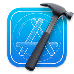 Image of the Xcode app icon.