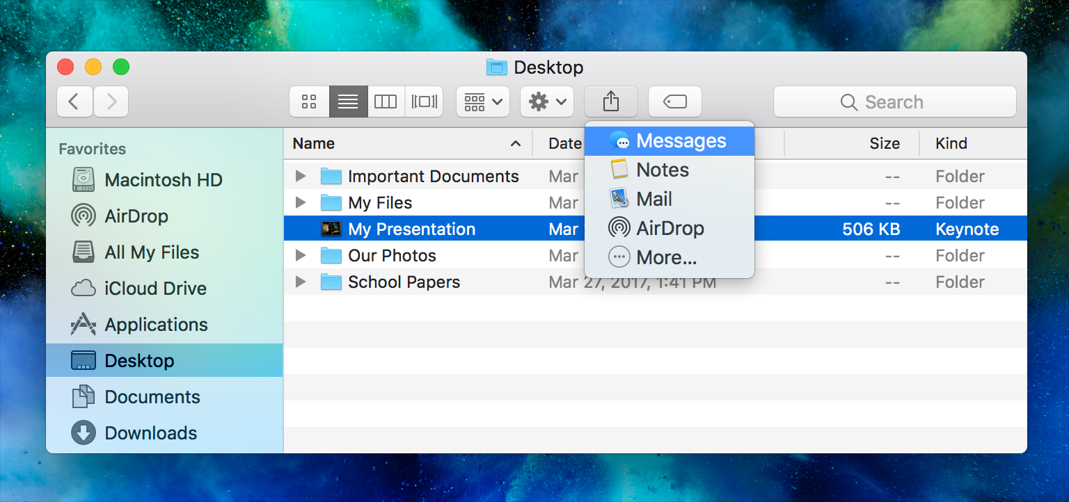 Share Extensions - Extensions - macOS - Human Interface
