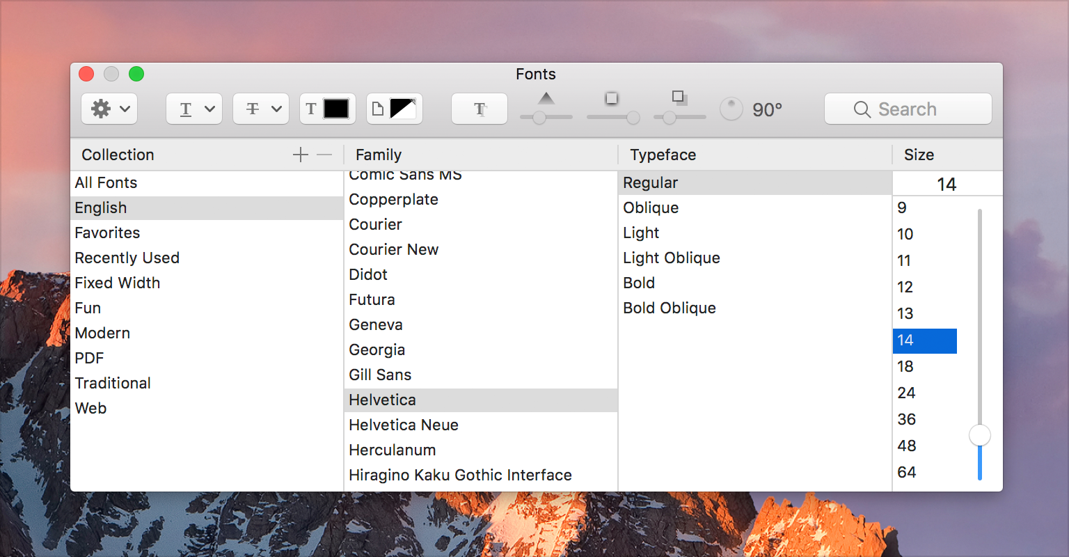 Typography - Visual Design - macOS - Human Interface Guidelines