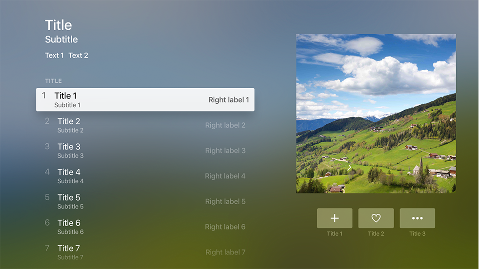 Layout - Visual Design - tvOS - Human Interface Guidelines