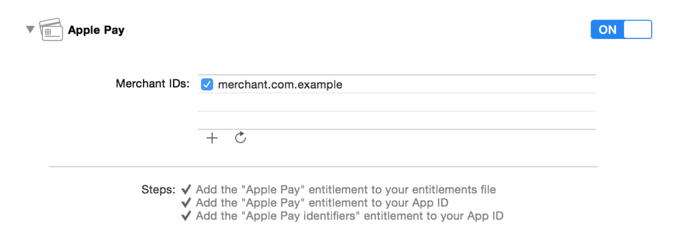 Apple Pay Programming Guide Configuring Your Environment