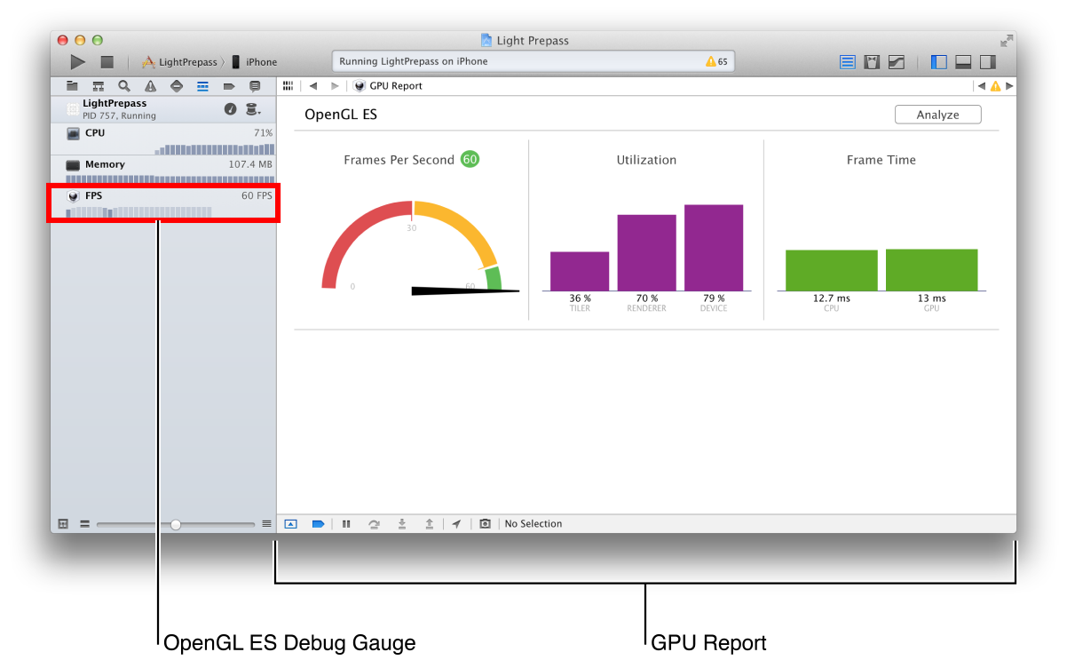 xcode_gpu_gauge_and_report_2x xcode opengl es tools overview  at crackthecode.co