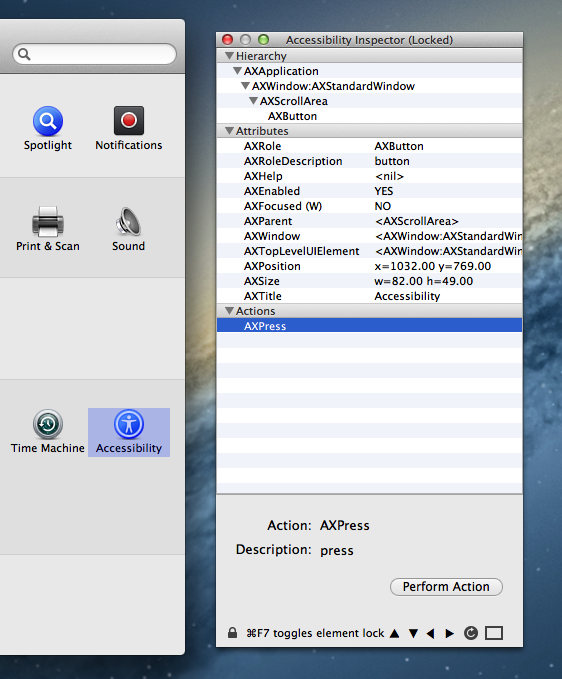 Accessibility Programming Guide for OS X: Testing for