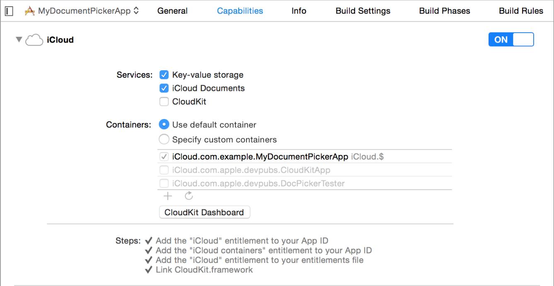 iCloud-Setting