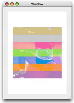 Drawing an image over a background using lighten blend mode
