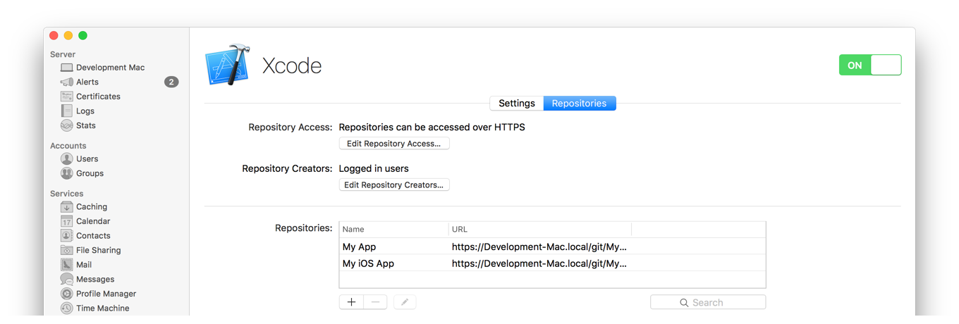 Xcode Server and Continuous Integration Guide: Enable Access