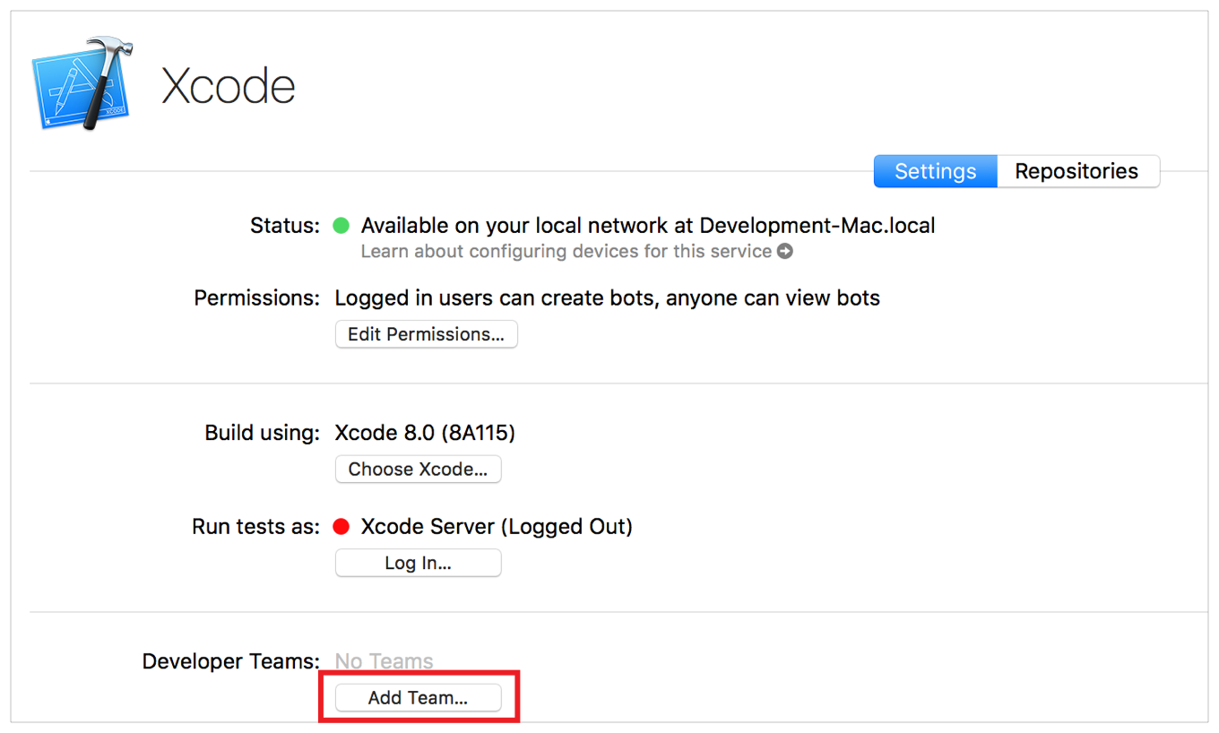 Xcode Server and Continuous Integration Guide: Install OS X