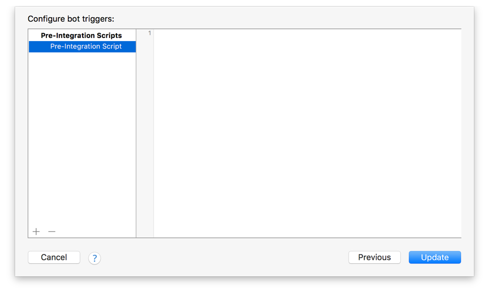 Xcode Server and Continuous Integration Guide: Configure