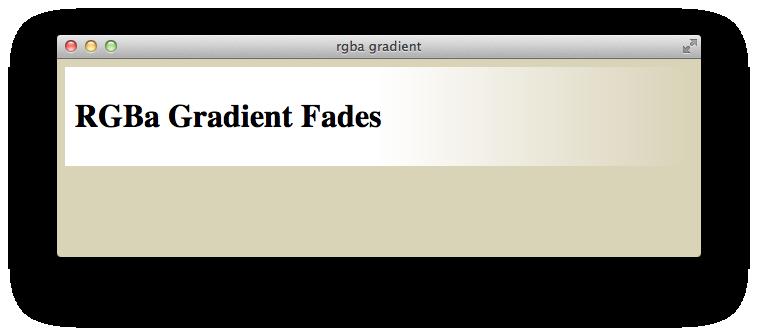 Using Gradients