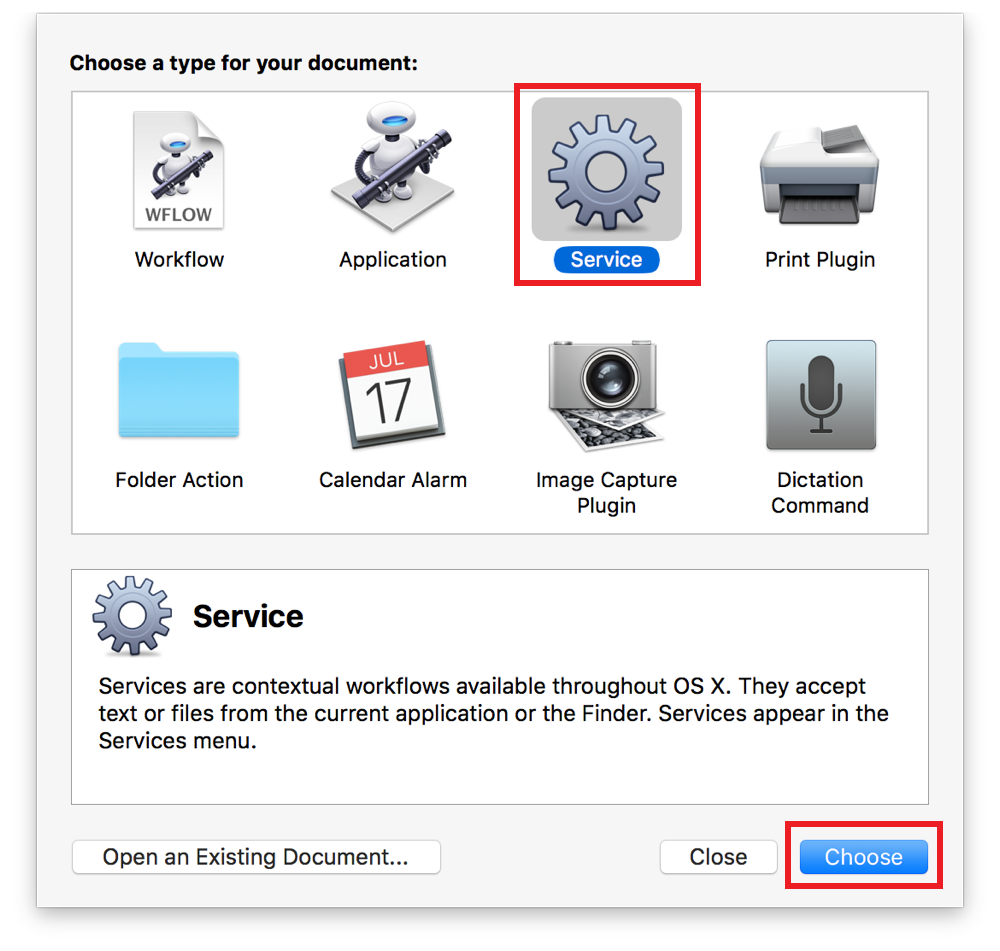 Mac Automation Scripting Guide: Making a Systemwide Service