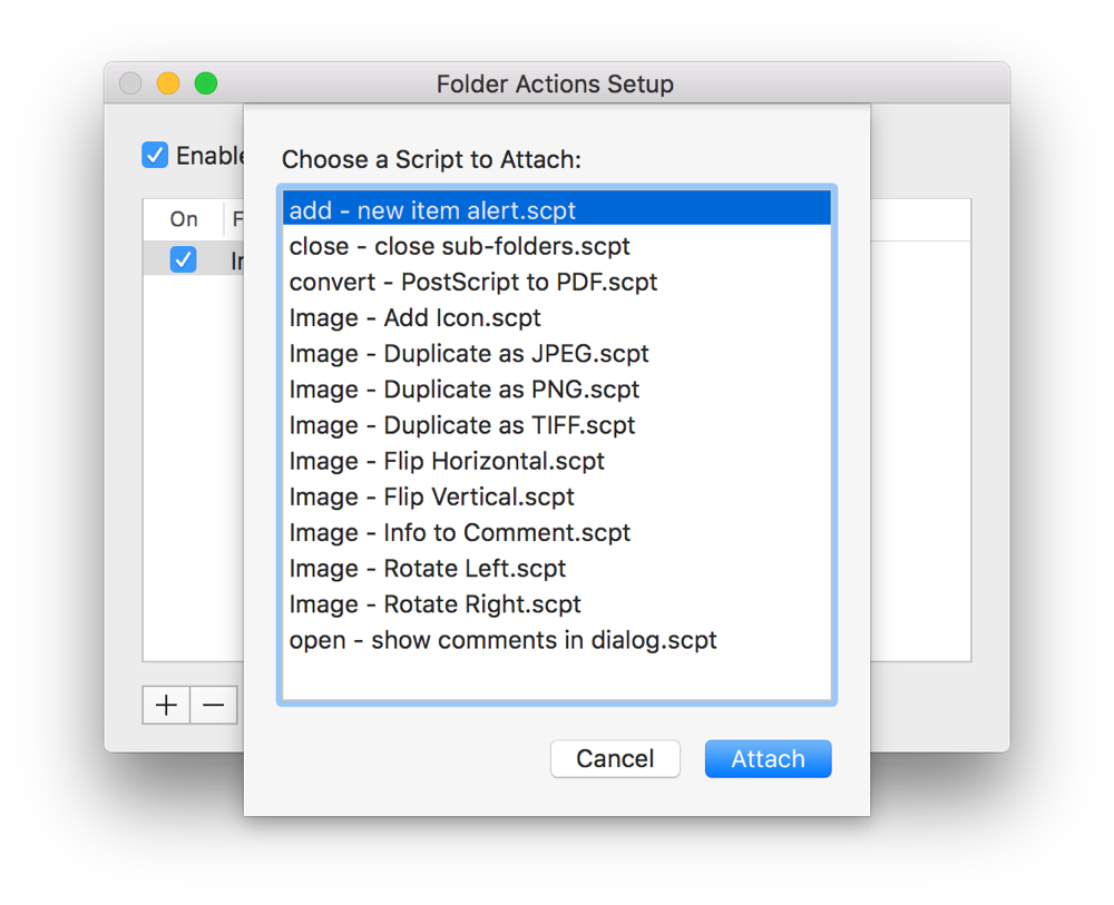 Mac Automation Scripting Guide: Watching Folders
