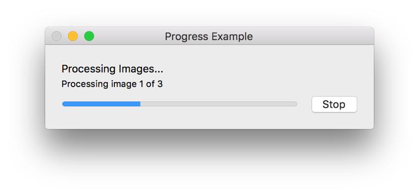 Mac Automation Scripting Guide: Displaying Progress