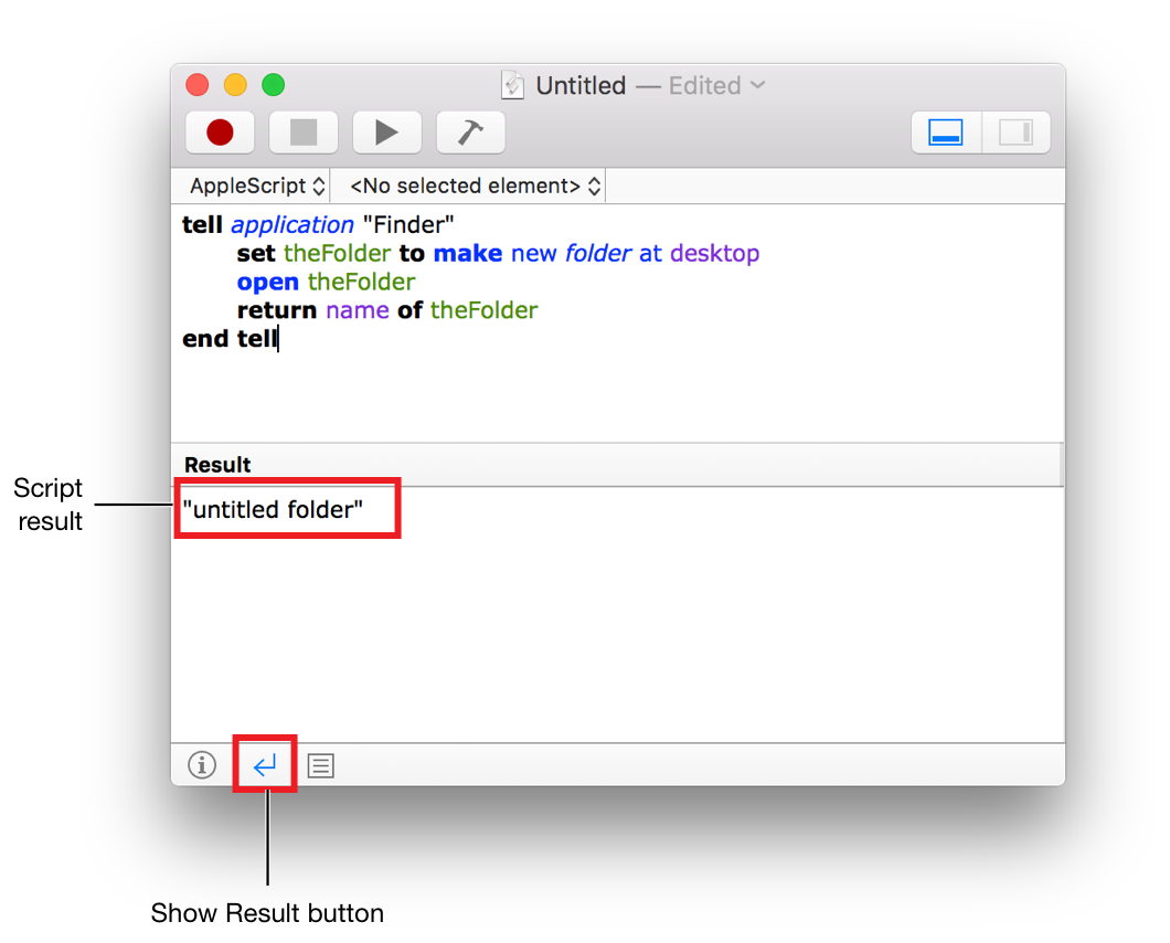 what is applescript editor for mac