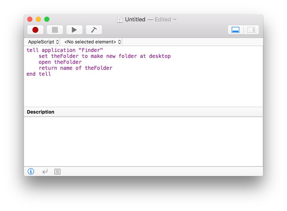 Mac Automation Scripting Guide: Creating a Script