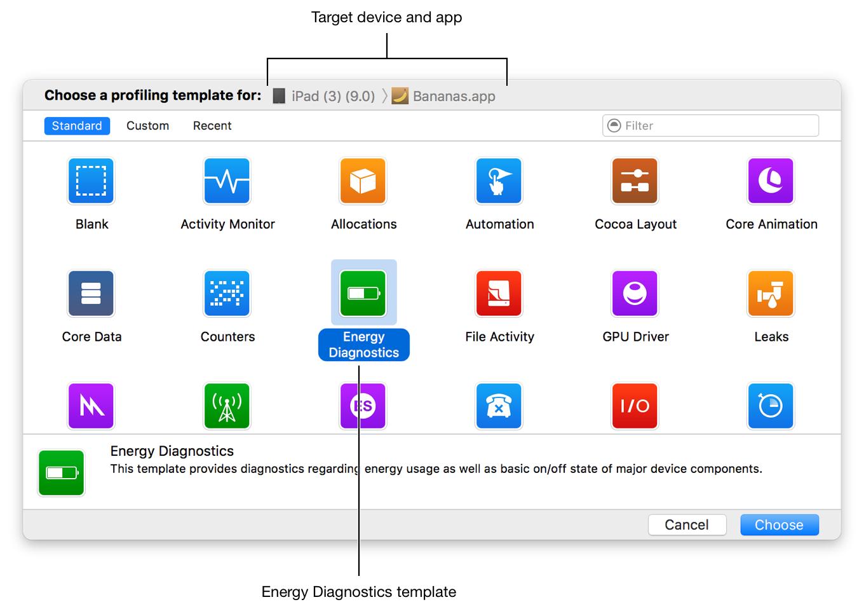 Energy Efficiency Guide for iOS Apps: Measure Energy Impact
