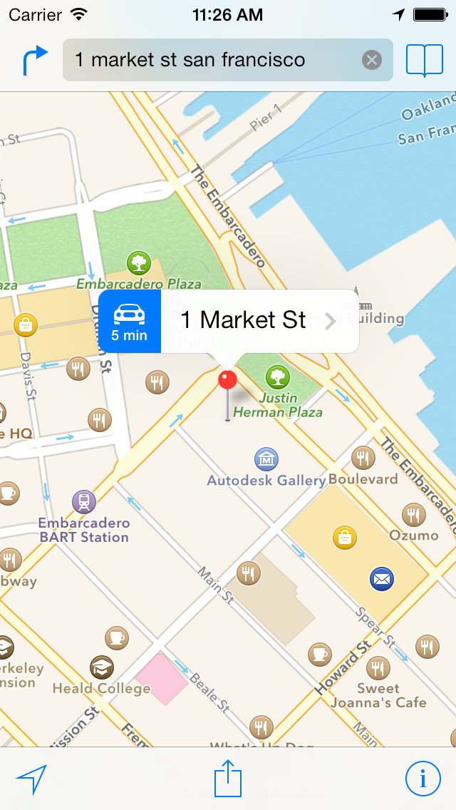 About Location Services And Maps - Us map iphone developer