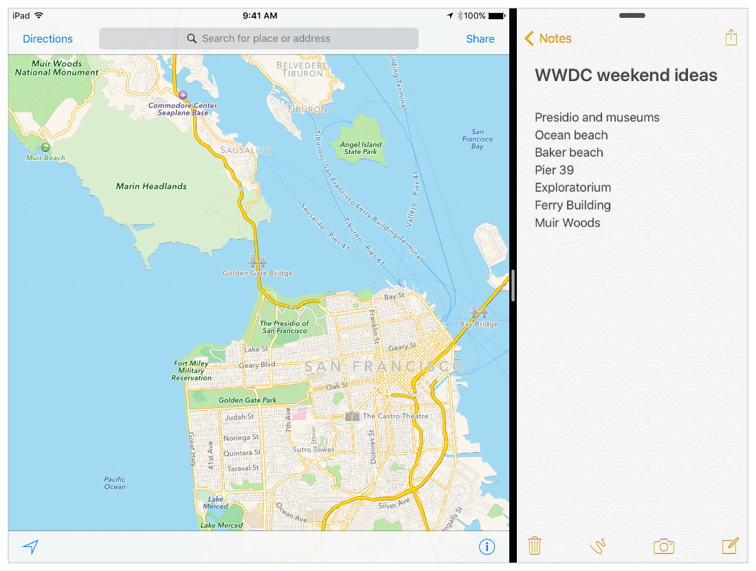 implement multitasking in iOS