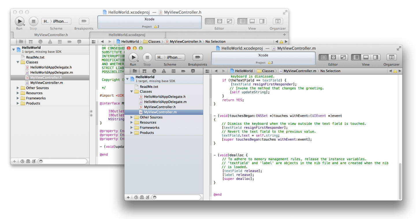 Manage Your Workflow in Xcode