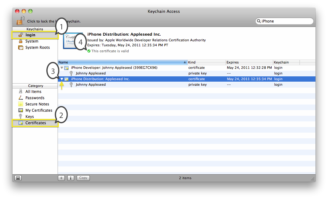 Technical Note TN2250: iOS Code Signing Troubleshooting