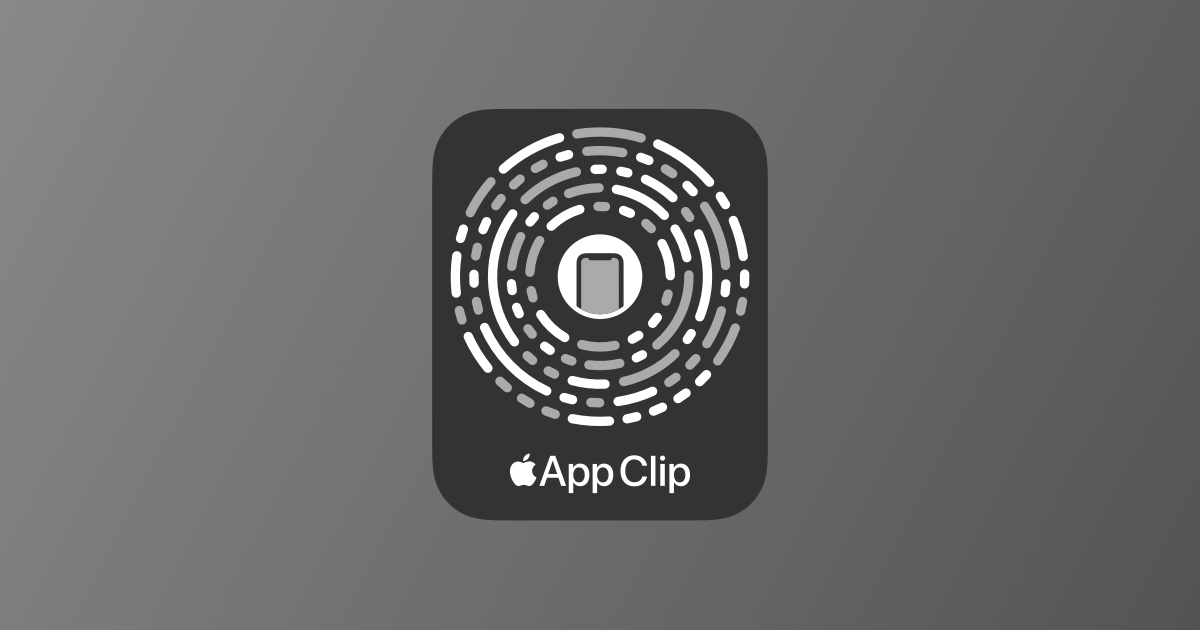 App Clip Codes now available