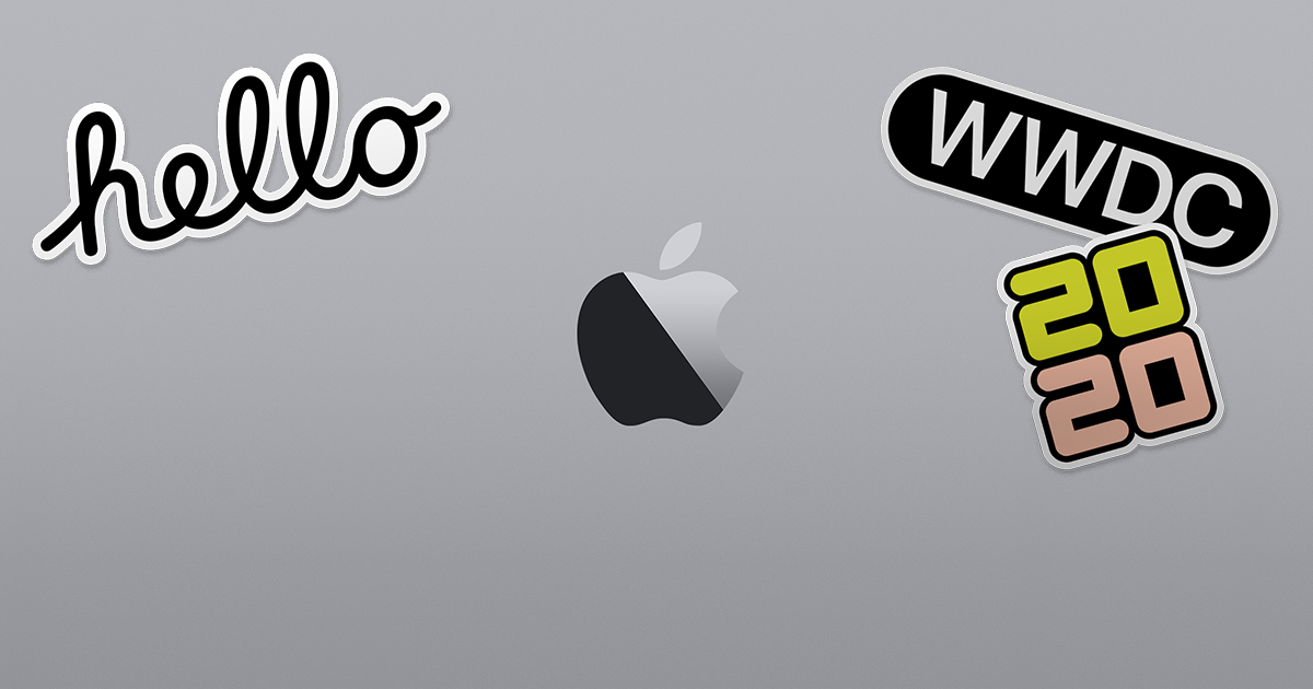 WWDC20. Coming this summer.