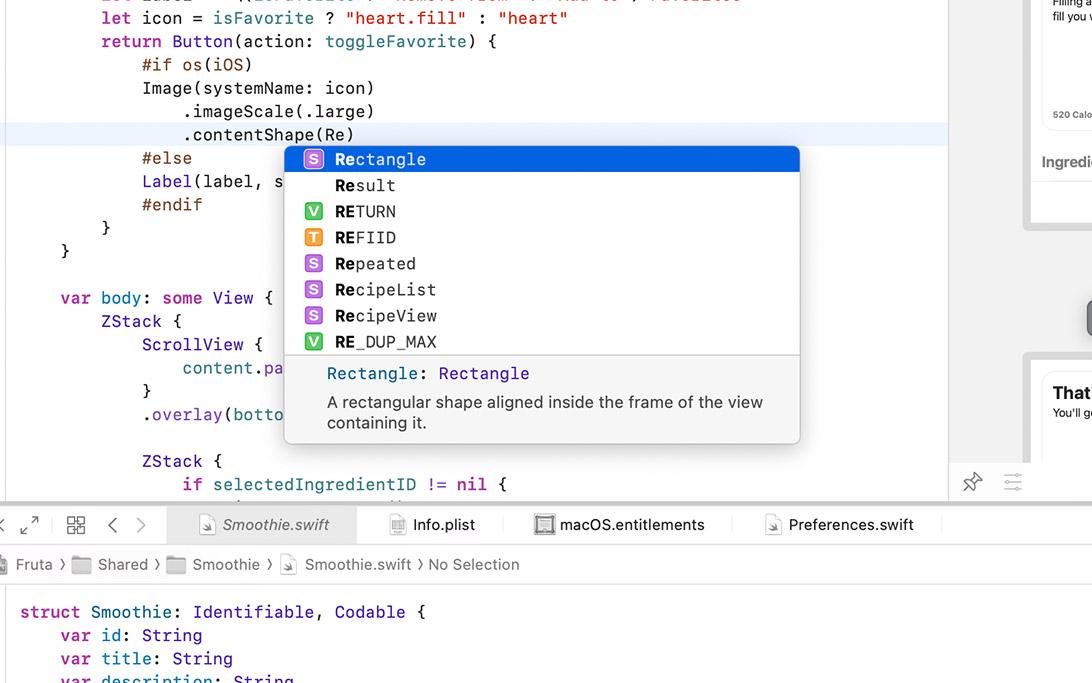 简化了代码补全